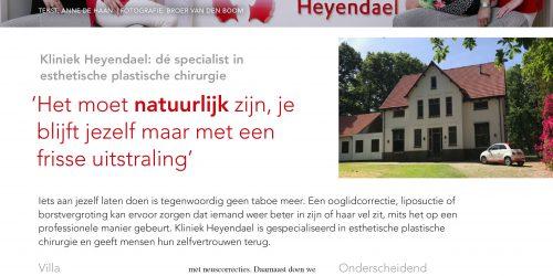 Kliniek Heyendael | Leuk artikel in de Nijmegen Business